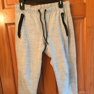 Old Navy men's joggers.  Light gray.  Size M.  VGC